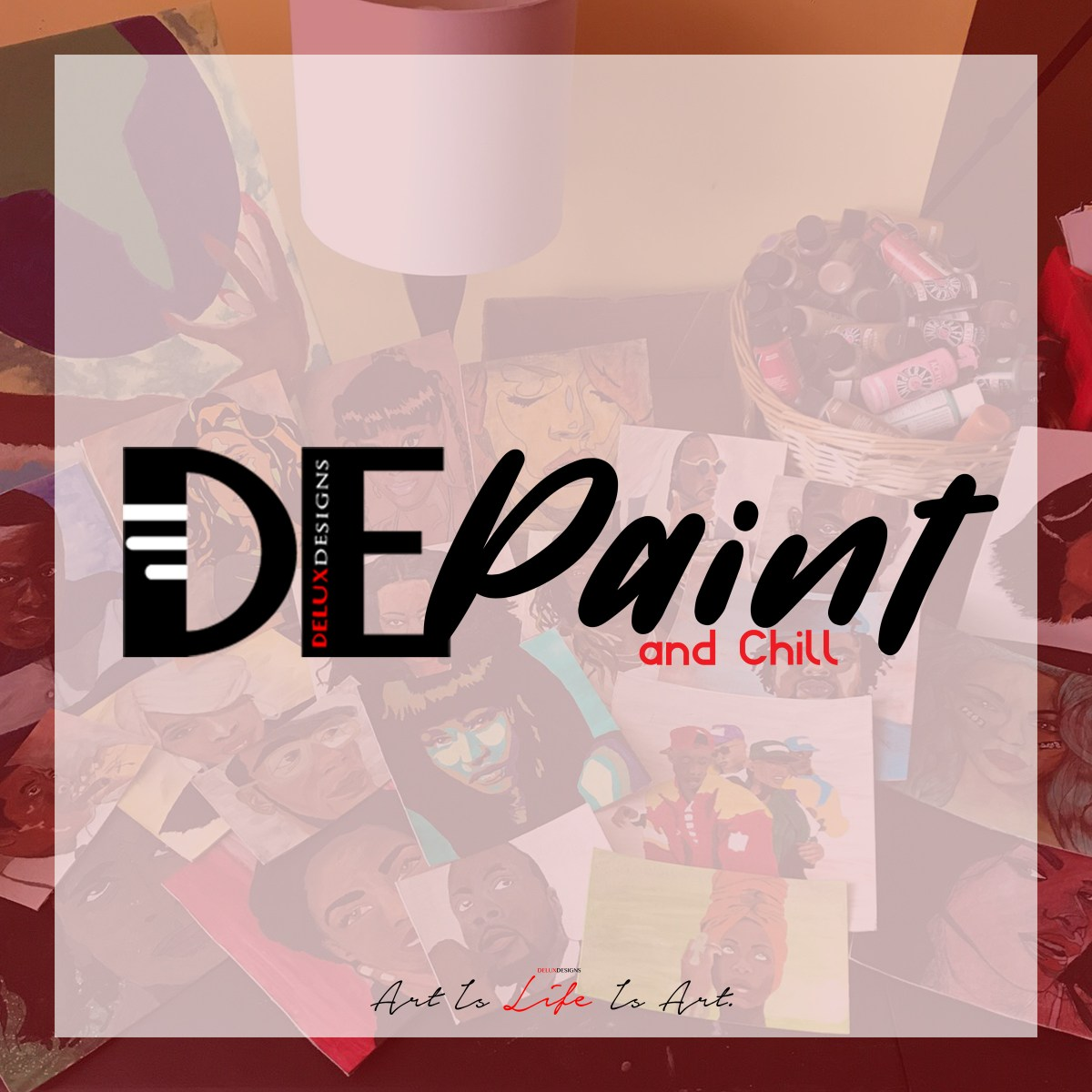 #DEPaint&Chill with Michaels Arts and Crafts